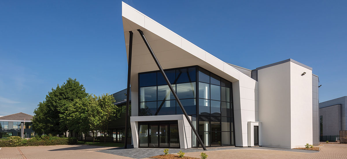 External shot of Aurora offices, Vanwall Business Park, Maidenhead